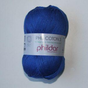 Phildar Cotton 3 Ref.0040 Azul Outremer