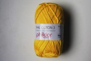 Phildar Cotton 3 Ref.1440 Amarillo Soleil