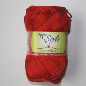 Anchor Creativa Ref.00390 Rojo