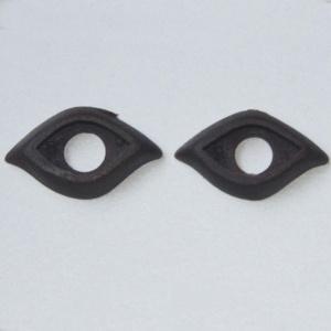 Par De Párpados Para Ojos De 10mm (varios Modelos)