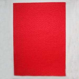Fieltro Termoadhesivo Rojo