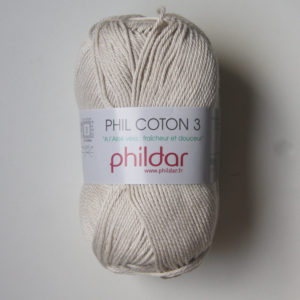 Phildar Cotton 3 Ref.0004 Perle