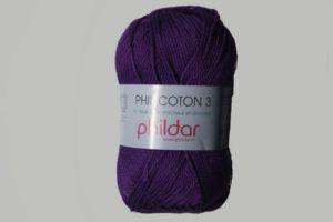 Phildar Cotton 3 Ref.0038 Violet