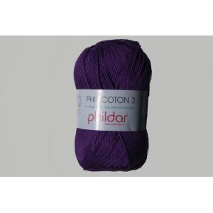 Phildar Cotton 3 Ref.0038 Violet