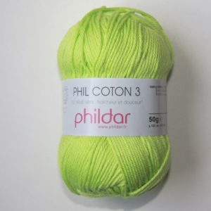 Phildar Cotton 3 Ref.0043 Pistache