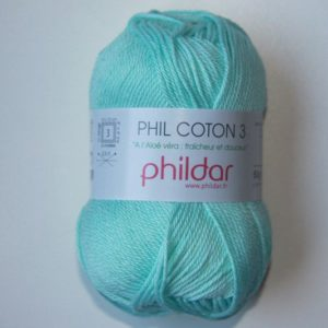 Phildar Cotton 3 Ref.0058 Jade