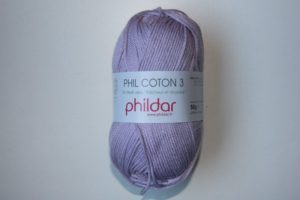 Phildar Cotton 3 Ref.0069 Lavande