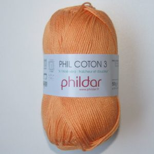 Phildar Cotton 3 Ref.0070 Melon