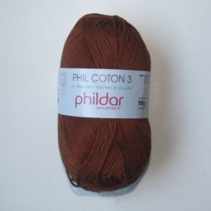 Phildar Cotton 3 Ref.0065 Havane