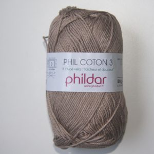 Phildar Cotton 3 Ref.0022 Chanvre