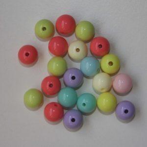 Pack 10 Bolitas De Colores De 10mm