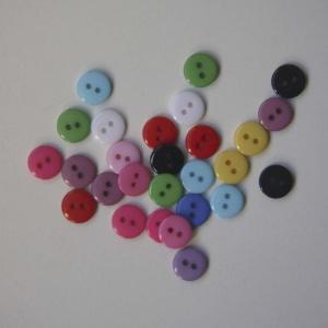 Pack 15 Botones 1,0 Cm