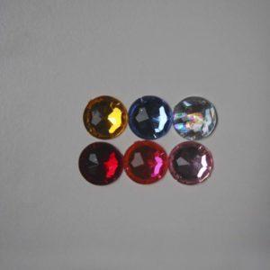Pack De 6 Abalorios Redondos 2cm