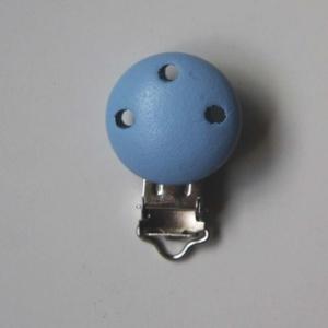 Chupetero Color Azul Claro