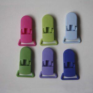 Pinza Chupetero Plástico (color A Elegir)