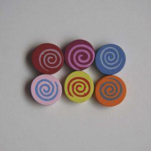Separador Redondo Espiral (color A Elegir)