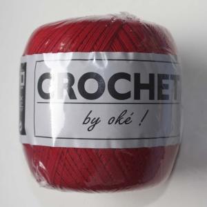 Oké Crochet 004 Rouge