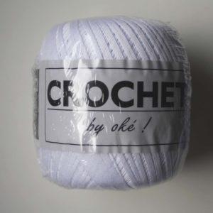 Oké Crochet 011 Blanc