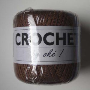 Oké Crochet 047 Marron