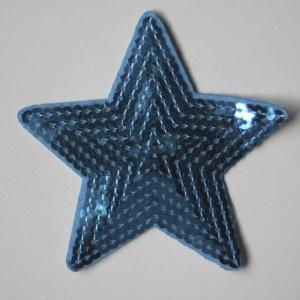 Estrella Con Lentejuelas 9x9cm(Color A Elegir)