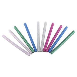 Barra Silicona Brillantina 7mm (opciones De Color)