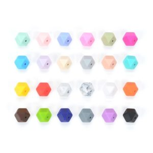 Mini Hexagon Ref 29 Silicona (Colores A Elegir)