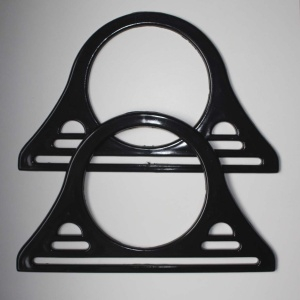 Asas Plástico 30x18cm Color Negro