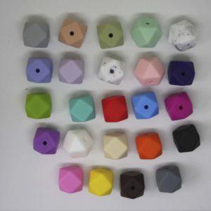 Mini Hexagon Ref 29 Silicona (Colores A Elegir)