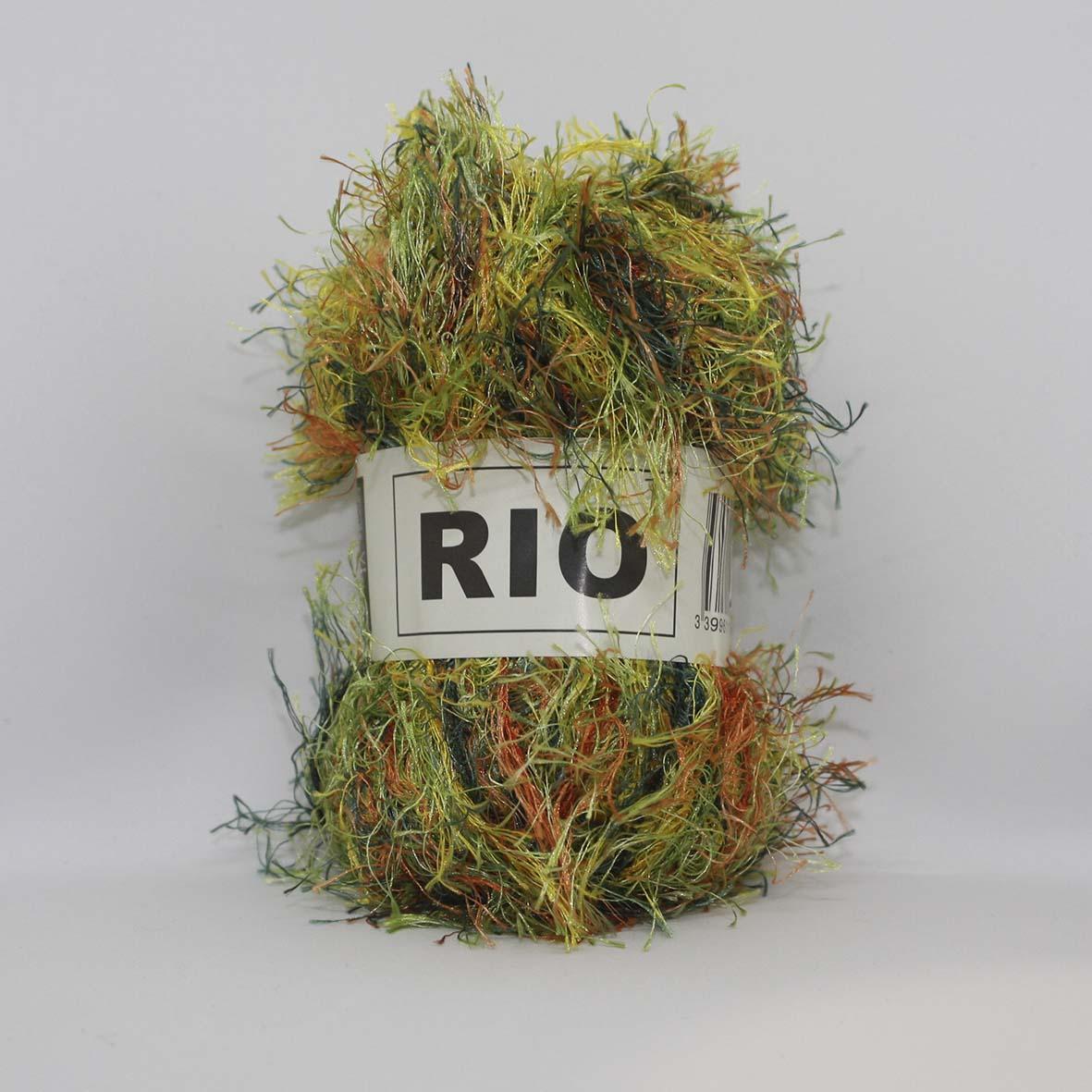 Rio 217 Vert Anis Orange