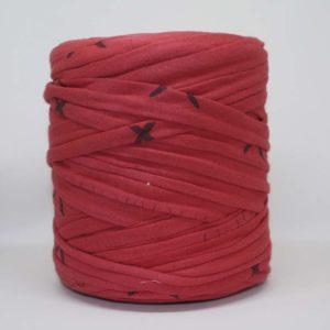 Trapillo Rojo Con Trazas Negras
