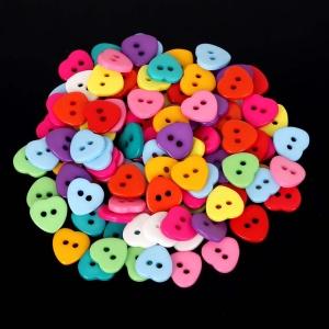 Pack 5 Botones Corazón