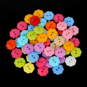 Pack 5 Botones Flor 13mm