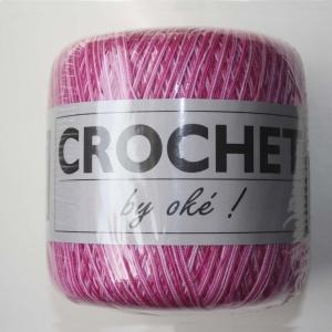 Oké Crochet 401 Multi Rosa