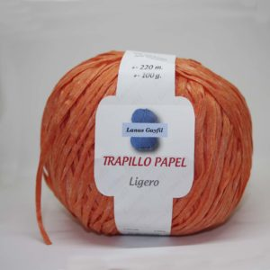Trapillo De Papel Ligero Ref Naranja