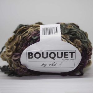 Bouquet 402 Prune Taupe Flanelle