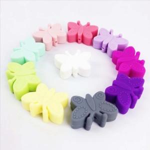 Mariposa Silicona (Colores A Elegir)