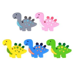 Dinosaurio Silicona (Color A Elegir)