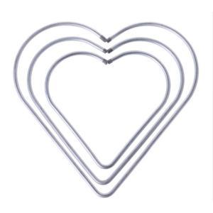 Corazón Atrapasueños Plateada (Medida A Elegir) (copia)
