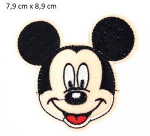 Parche Cara Mickey 7,9 Cm X 8,9 Cm