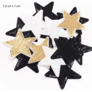 Parche Estrella 7,2cm X 7cm