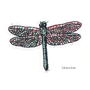 Parche Libelula 7,4cm X 5cm