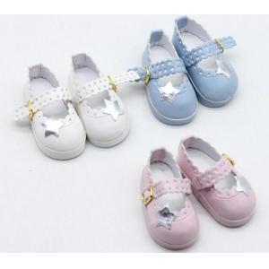 Zapato Con Estrella Plateada