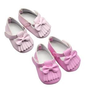 Zapato Con Lazo Y Borla