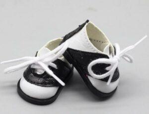 Zapato Blanco Y Negro
