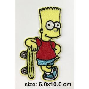 Parche Bart Simpson Patin