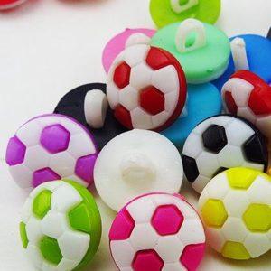 Pack 5 Botones Balón 13mm