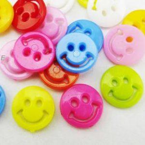 Pack 5 Botones Carita 13mm