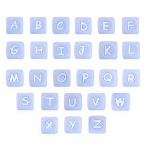 Letra Silicona 12 Mm Azul