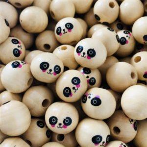 Bola Madera 18mm – Panda